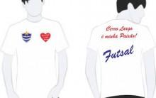 Cerro Largo Futsal Lança Camiseta Promocional