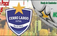 Cerro Largo Futsal Participará Novamente do Programa Domingo na Praça