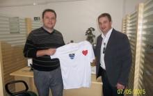Cerro Largo Futsal Entrega Primeiras Camiseta Sorteadas Entre Os Sócios