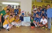Cerro Largo Futsal arrecada donativos em amistoso com Futsal UFFS
