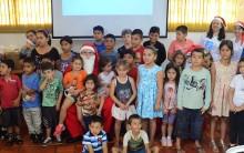 Cerro Largo Futsal promoveu ação social para marcar Natal das Crianças