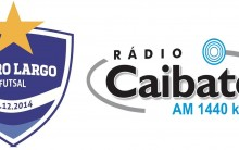 Cerro Largo Futsal e Rádio Caibaté, juntos em 2016