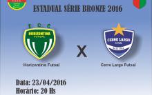 Cerro Largo Futsal estréia neste sábado