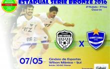 Série Bronze: Cerro Largo Futsal joga em Ijuí neste sábado