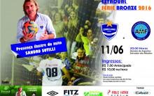 Jogo entre Cerro Largo Futsal e AMF, terá a presença de Sandro Sotilli