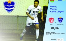 Cerro Largo Futsal vai em busca de mais 3 pontos