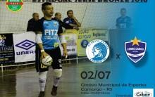 Série Bronze: Cerro Largo Futsal vai a Camargo
