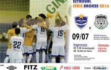 Série bronze: Cerro Largo Futsal recebe AIF de Ijuí