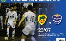 Série Bronze: Cerro Largo Futsal vai a Palmeira das Missões