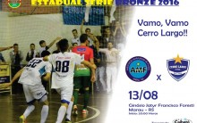 Cerro Largo Futsal viaja em busca da classificação