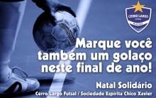 Cerro Largo Futsal e S.E. Chico Xavier promovem mais um Natal Solidário