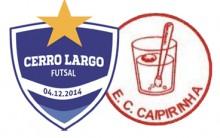 Cerro Largo Futsal joga seu primeiro amistoso neste sábado