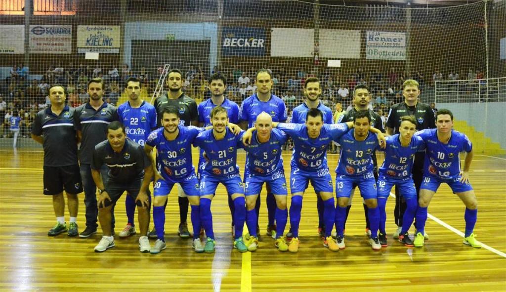 Foto: Assessoria Cerro Largo Futsal/Lojas Becker
