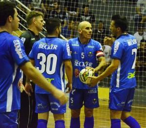 Equipe joga neste sábado. Foto: Assessoria Cerro Largo Futsal/Lojas Becker