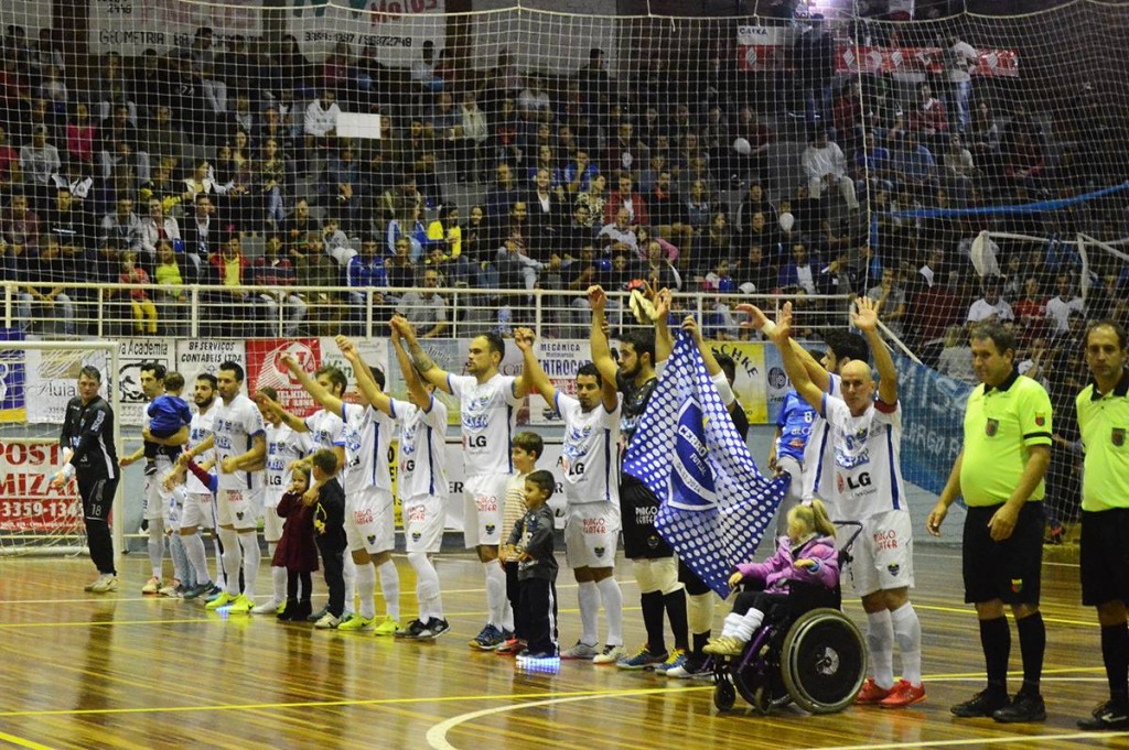 Equipe buscará mais três pontos diante de seu torcedor. Foto: Assessoria Cerro Largo Futsal/Lojas Becker