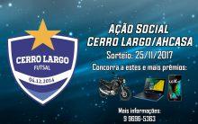 Cerro Largo Futsal lança ação entre amigos em parceria com AHCASA