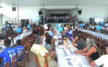 Comunidade reunida no aniversário do Cerro Largo Futsal