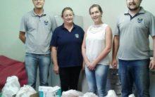 Cerro Largo Futsal entrega donativos arrecadados durante amistoso