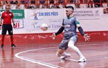 Goleiro Beccon é o novo reforço do Cerro Largo Futsal