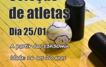 Cerro Largo Futsal realiza seleção de atletas neste sábado, no ginásio Roque Nedel