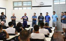 Diretoria do Cerro Largo Futsal recepciona atletas e comissão técnica